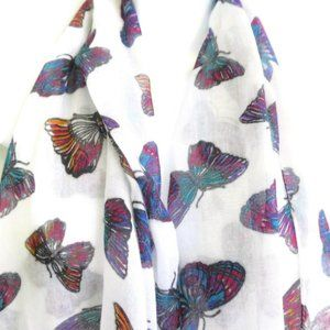 Dream Out Loud Selena Gomez Scarf Butterflies